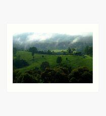 """Mornings Green"".. Art Print"