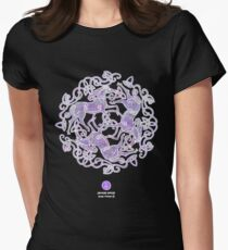 Tri Capall Womens Fitted T-Shirt