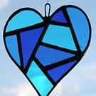 """Love Heart """"Blue"""" by Neil Witney"""