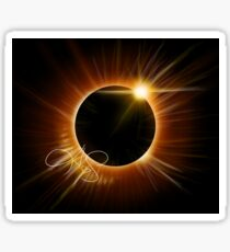 Eclipse Sticker - Signed  Sticker