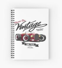 CLASSIC CAR VINTAGE  Spiral Notebook