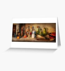 Alchemy - The home alchemist Greeting Card