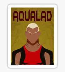 Young Justice: Minimalist Aqualad Poster Sticker
