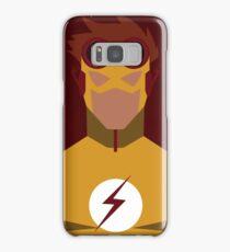 Young Justice: Minimalist Kid Flash Poster Samsung Galaxy Case/Skin