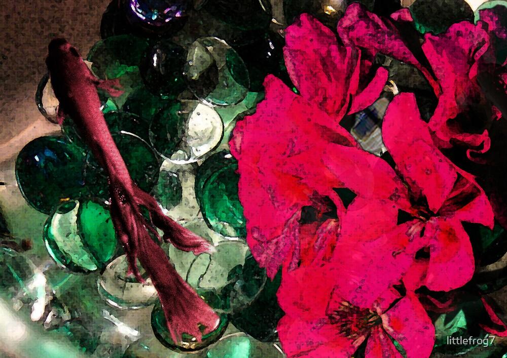 TJ Red Flower by littlefrog7
