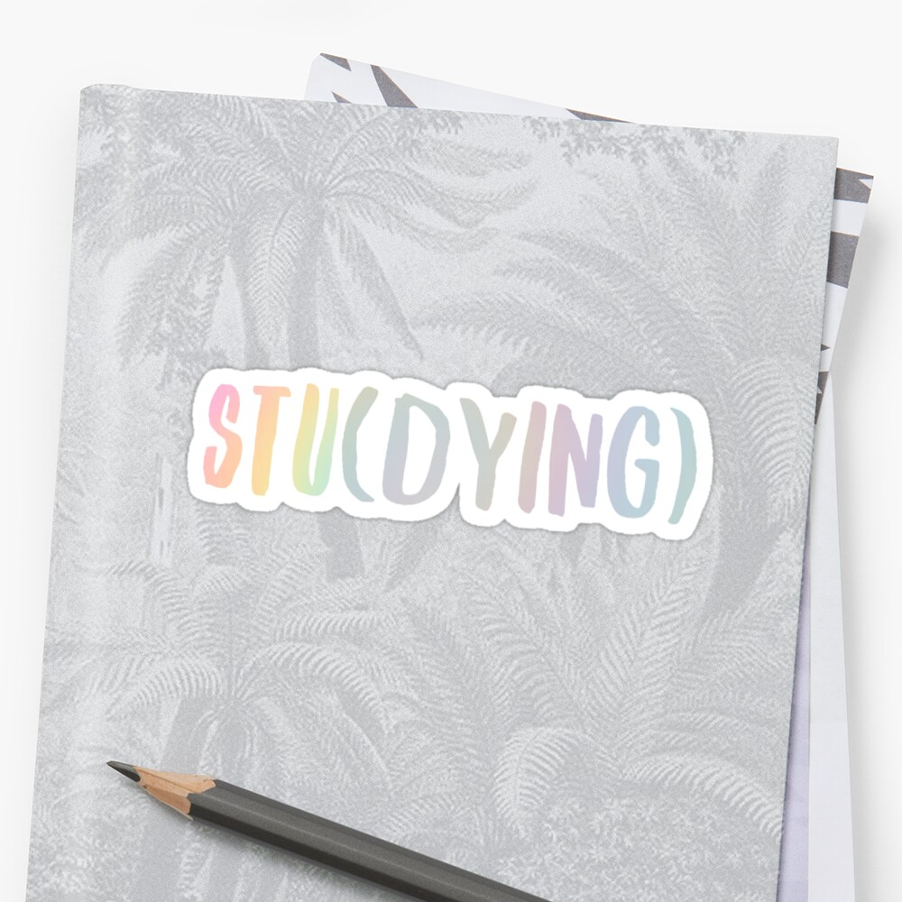 Stu (Färben) - Tye Dye Sticker
