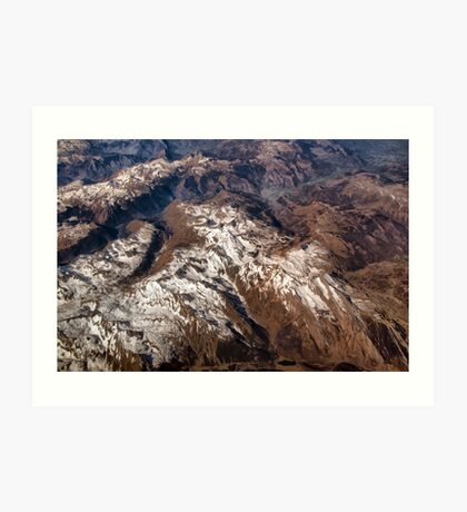 Mountain Peaks for Dreaming Art Print