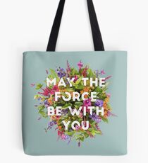 Floral Force Tote Bag