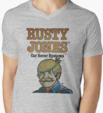 Rusty Jones Rust Prevention HiFi Men's V-Neck T-Shirt
