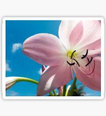 Flower Close-up Sticker