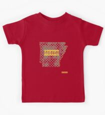 Arkansas State - There's No Place Like Home (Yellow Version) Kids Clothes