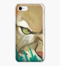Cougar eye iPhone Case/Skin