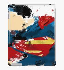 superman brushstrokes iPad Case/Skin