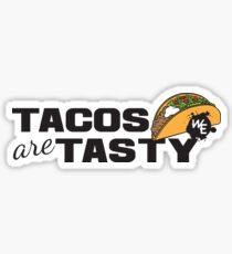 Tacos = Tasty! Sticker
