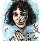 «Reina de un mar de lágrimas» de vanesaizquierdo