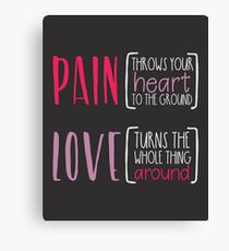 HEART OF LIFE Canvas Print