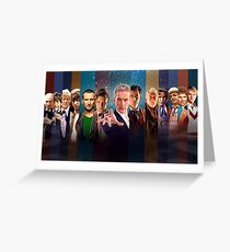 Dr. Who - Doctors Greeting Card