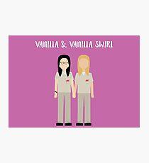 """Alex & Piper: """"Vanilla & Vanilla Swirl"""" Photographic Print"""