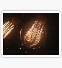 Electric bulb  Sticker