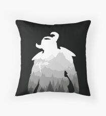 Elder Scrolls - Skyrim Throw Pillow