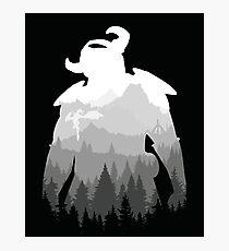 Elder Scrolls - Skyrim Photographic Print