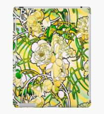 Mucha Peonies, a la Stained Glass HDR iPad Case/Skin