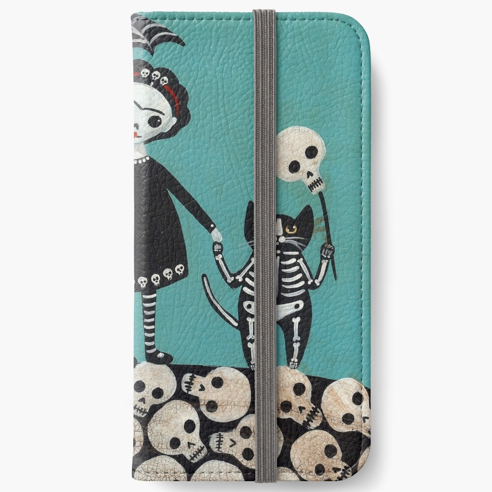 Day of the Dead  iPhone Wallet
