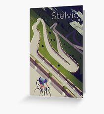 'Stelvio' Print Greeting Card