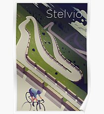 'Stelvio' Print Poster