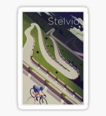 'Stelvio' Print Sticker