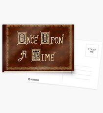 Once Upon A Time Postcards