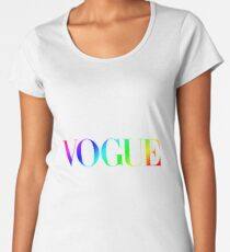 Rainbow Vogue Women's Premium T-Shirt
