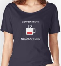 Funny Coffee Lover Humor  Women's Relaxed Fit T-Shirt