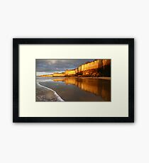Morning Walk,Anglesea,Great Ocean Road,Australia. Framed Print
