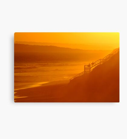 End of Day 13th Beach Canvas Print