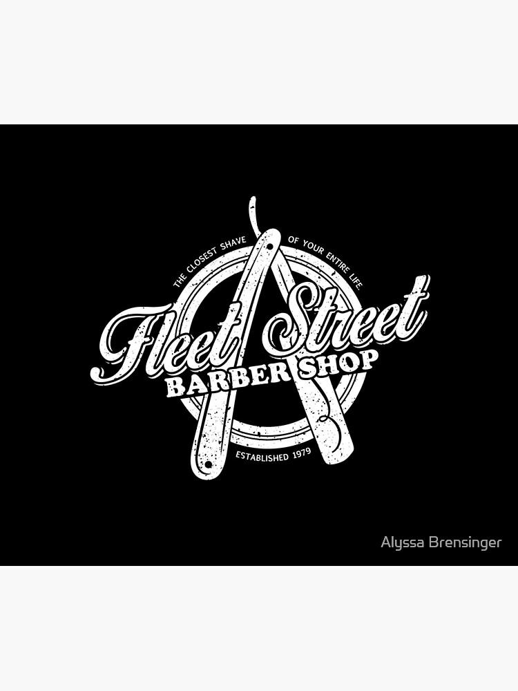 Fleet Street Barber Shop by AlyssaNBren