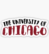 THE UNIVERSITY OF CHICAGO Sticker
