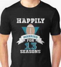 Funny T-shirt For Couples, Cool 13th Wedding Anniversary Gift For Men T-Shirt