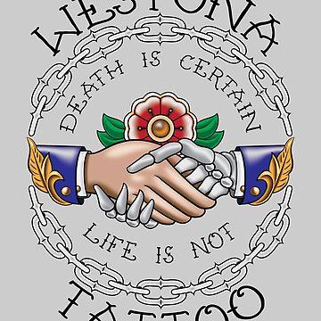 Westona Hands on White by ScottyTattoo