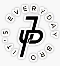 Everyday Bro It's JP Sticker