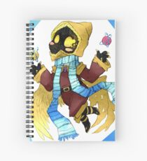 The Wise Twin Castor Spiral Notebook