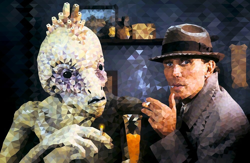 Naked Lunch Polyart by camlacey