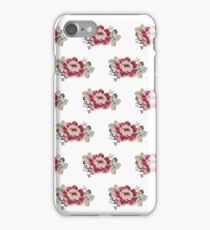 Red Flower Illustration iPhone Case/Skin