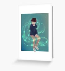 Ghost Lights Greeting Card