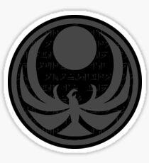 Nightingale Emblem from skyrim Sticker