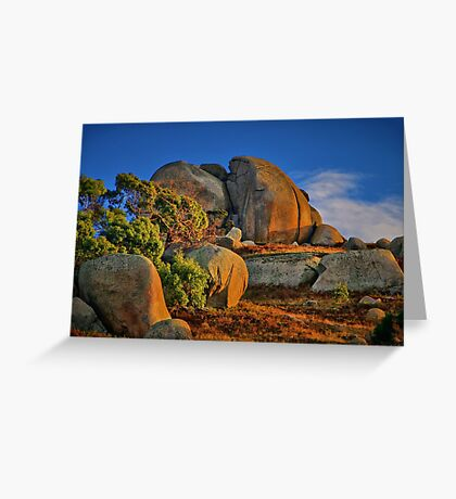 """""""Rock of Ages"""" Greeting Card"""