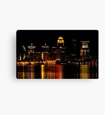 Metro Louisville Melody Canvas Print
