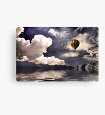 Nice Day To Fly Canvas Print