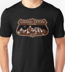 Grand Teton National Park Eclipse 2017 T-Shirt