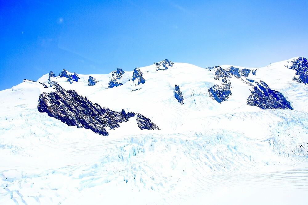 NZ Franz Josef and Fox Glaciers by Shootfromthehip